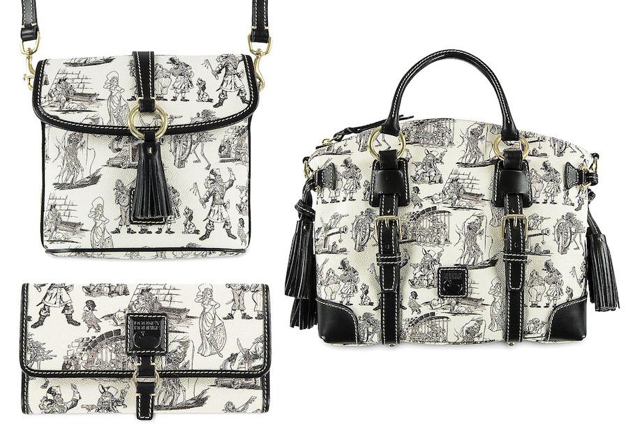 Pirates of the Caribbean-Inspired Dooney & Bourke Handbag Collection