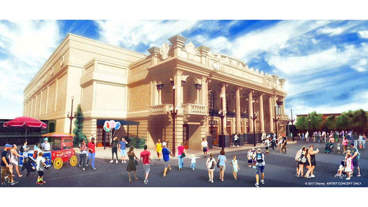 Content owned by Disney - new theater coming to Walt Disney World Resort