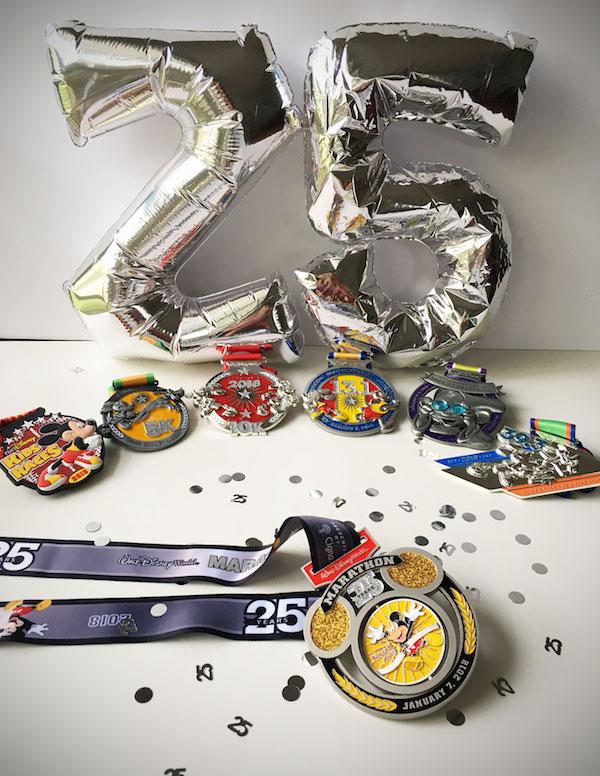 Walt Disney World Marathon Medals