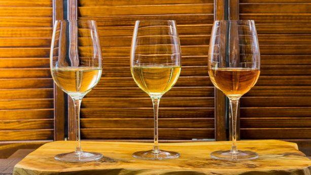 White Wine Flight at Disney California Adventure Food & Wine Festival