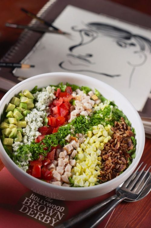Cobb Salad at The Hollywood Brown Derby at Disney's Hollywood Studios
