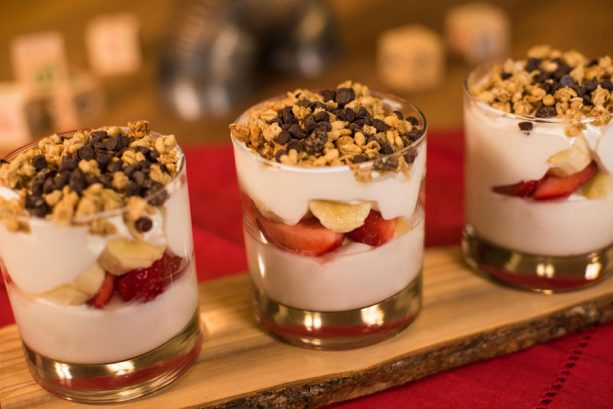 Banana Split Yogurt Parfait