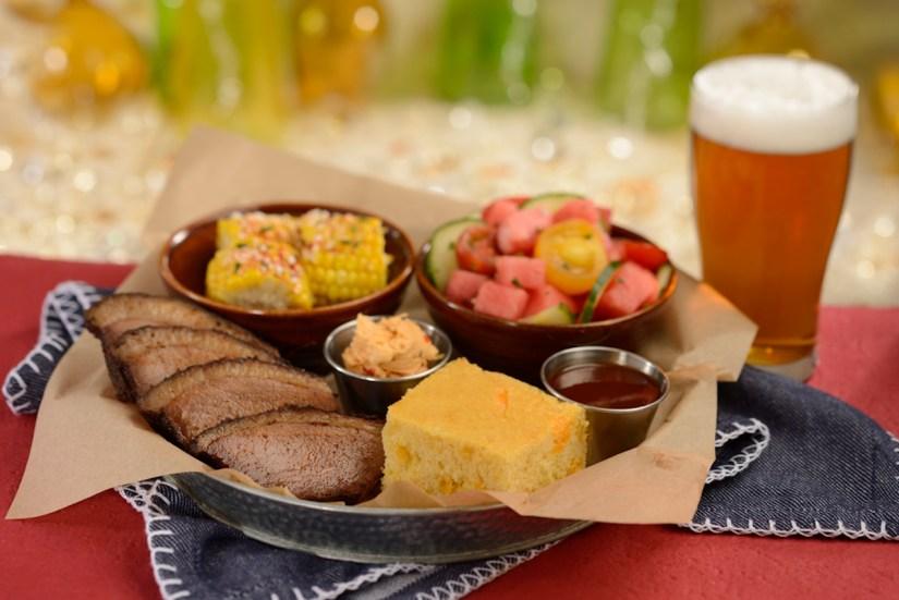 Carved Beef Brisket Platter at The Diamond Horseshoe at Magic Kingdom Park