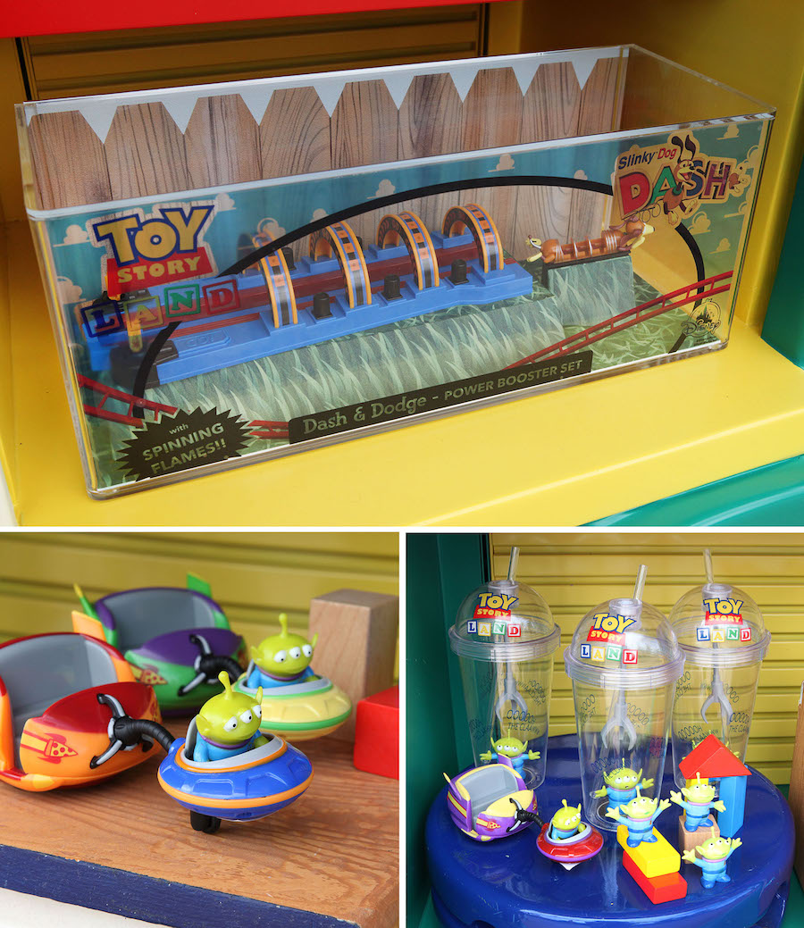 Merchandise Avialable at Toy Story Land