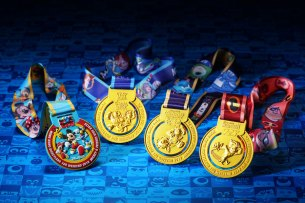 Hong Kong Disneyland Resort's 10K Weekend Medals