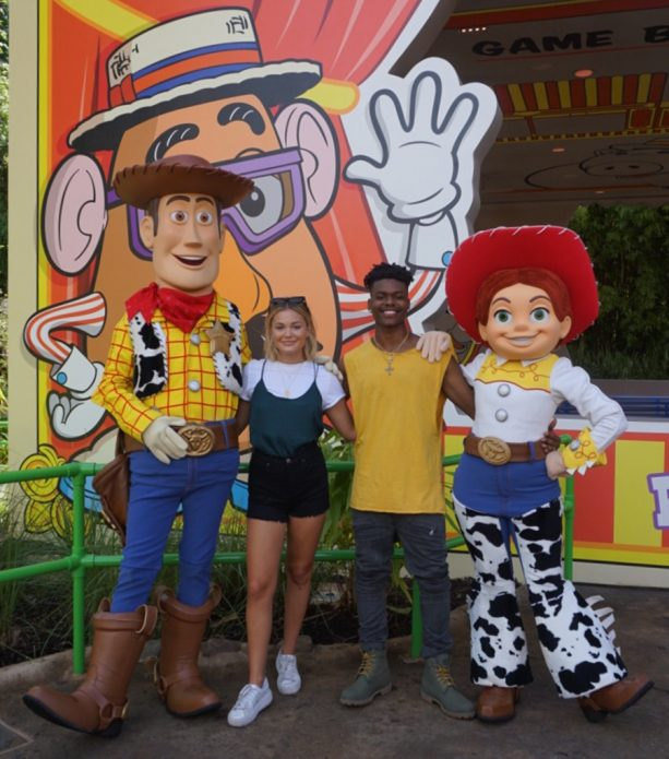 Woody and Jessie at Toy Story Land at Walt Disney World Resort