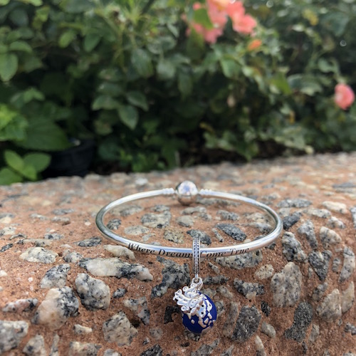 Travel-Inspired PANDORA Charm featuring Mickey Mouse