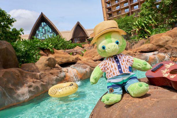 'Olu, a friend of Duffy the Disney Bear