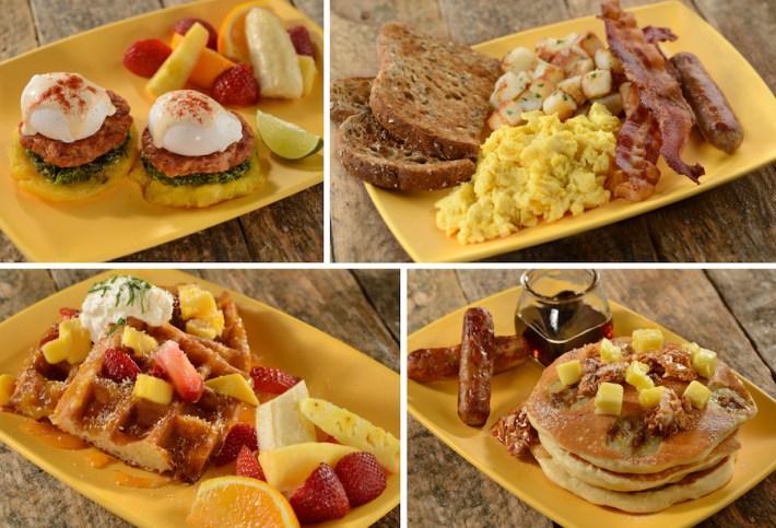 Breakfast Entrées at Centertown Market at Disney's Caribbean Beach Resort