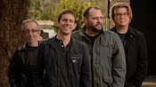 The 4 person alternative rock band Toad the Wet Sprocket