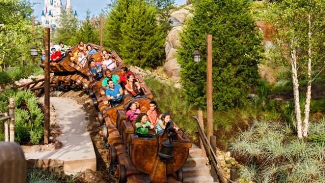 Image result for seven dwarfs mine train