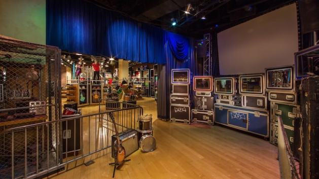 Inside Rock Around the Shop on Sunset Boulevard at Disney's Hollywood Studios