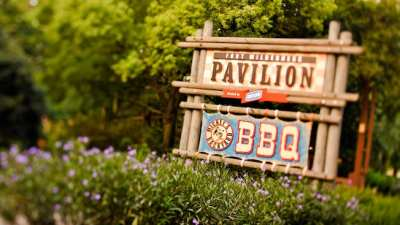 The Fort Wilderness Pavilion is home to Mickey's Backyard BBQ