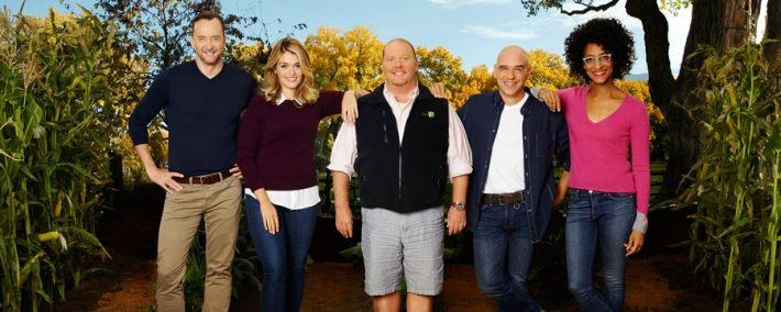 The CHEW will be taping in EPCOT during the Food & Wine Festival!