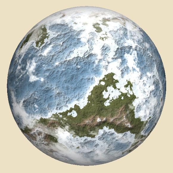 Fractal Terrains 3 World
