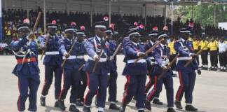 Nigerian Navy Hands Over 7 Suspects To Nscdc In Lagos