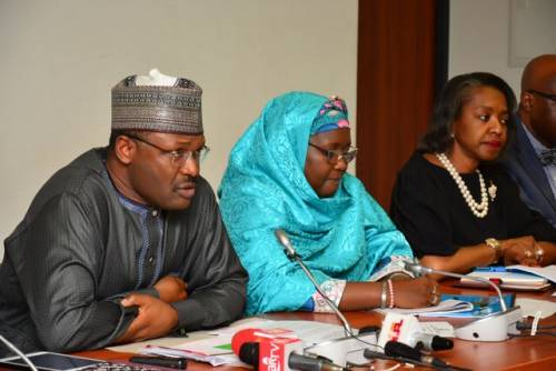 Image result for INEC: Why we won't remove Amina Zakari as head of elections collation centre