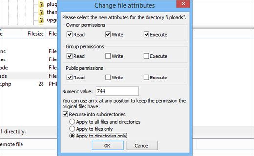 directoriesfilepermissions