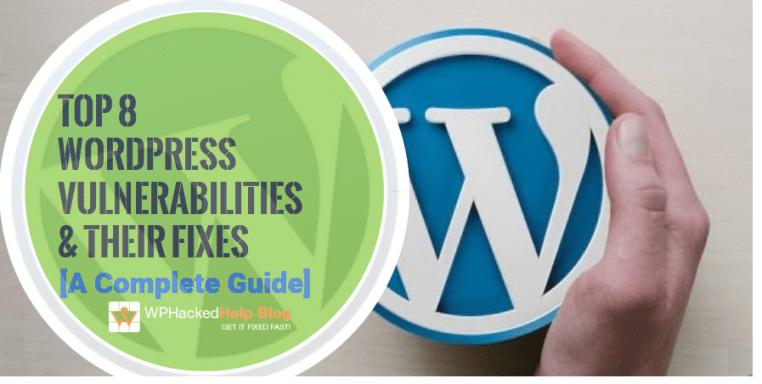 WordPress Security Vulnerabilities removal