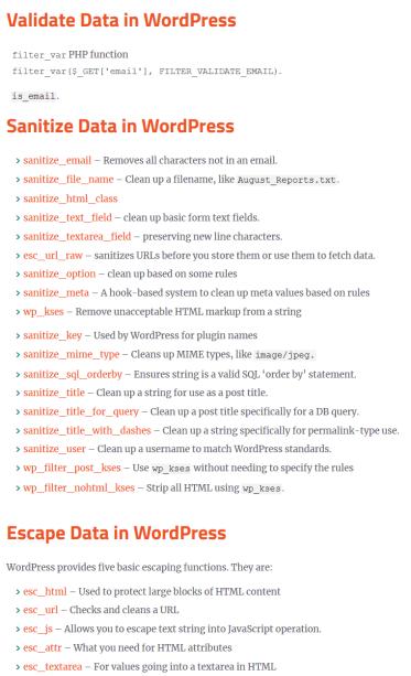 XSS Attack in WordPress _Developer's Guide to prevent