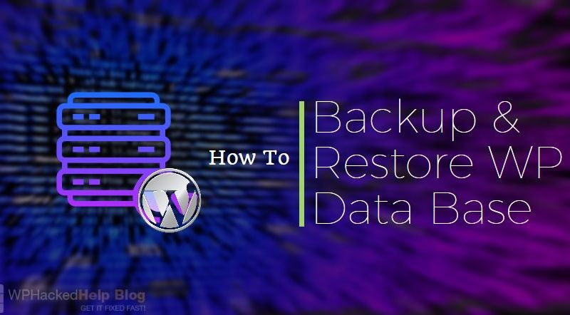 How to Backup WordPress Database Manually & With Plugins?