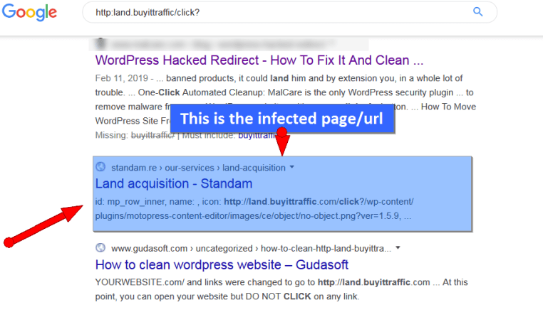 multiple wordpress site redirects to malware site