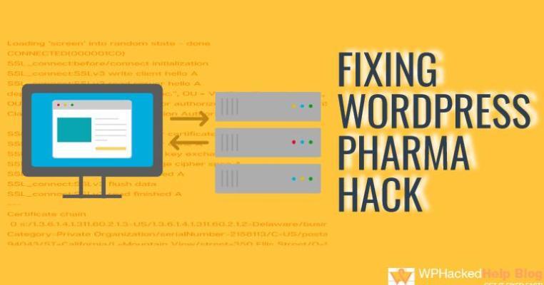 Fix WordPress Pharma Hack