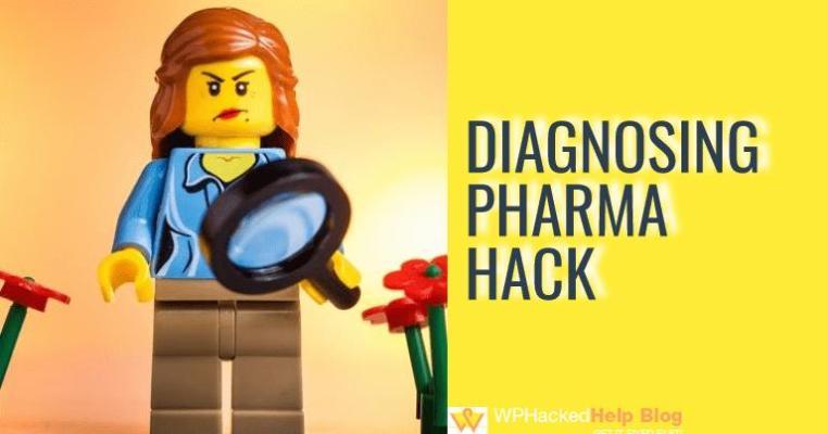 How to Diagnose wordpress pharma hack