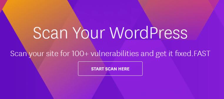 scan wordpress site
