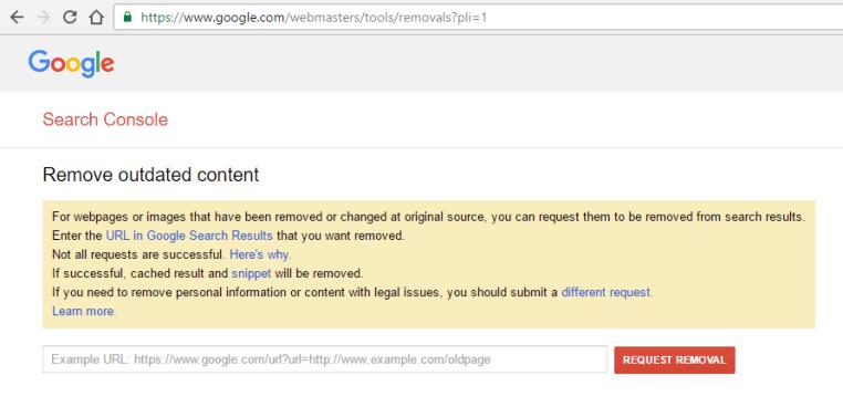 Google-url-removal-tool