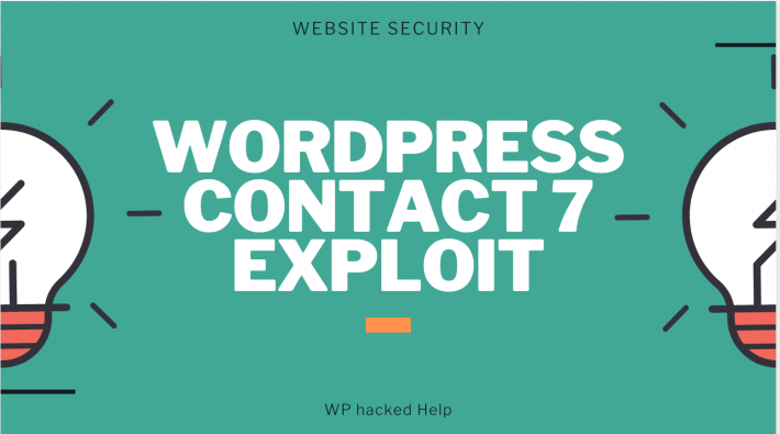 WordPress Contact Form 7 Plugin Critical Vulnerability Exploit