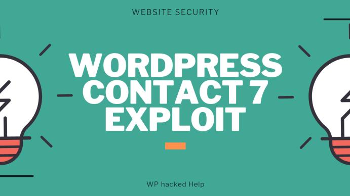 contact 7 exploit wordpress