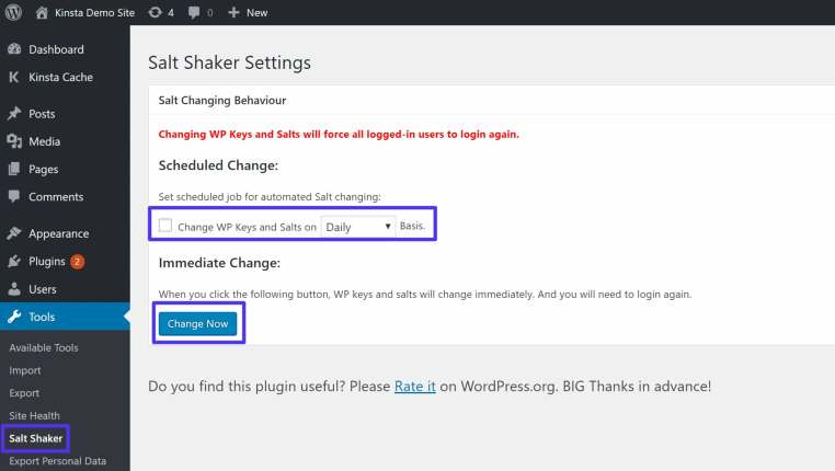 What Are SALT Keys - How to use the Salt Shaker plugin