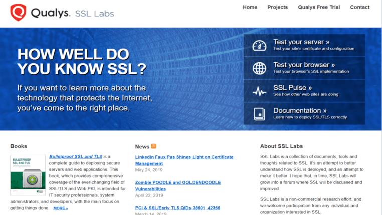 web server vulnerability security scan