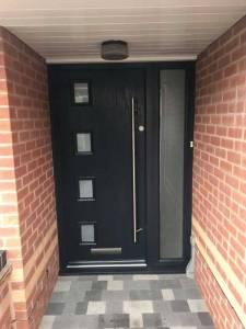 Composite Door Installed Locally