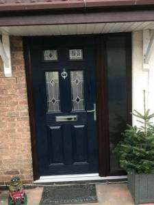 Composite Door Installed Locally