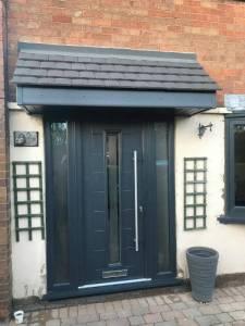 New Composite Door Installed In Mansfield
