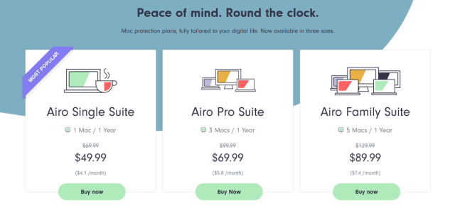 airo antivirus for mac pricing