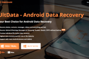 recover lost data android ultdata