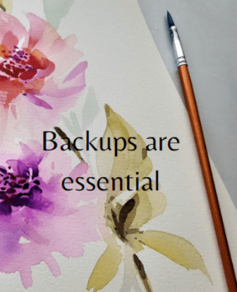 backups are essential