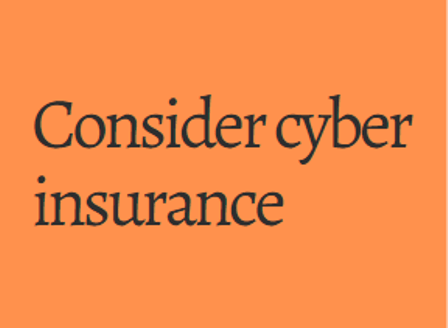 cyber insurance for business