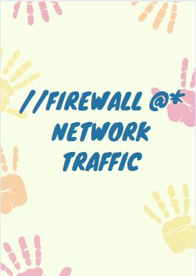 firewall network traffic