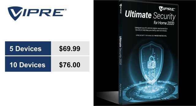 vipre ultimate pricing plans