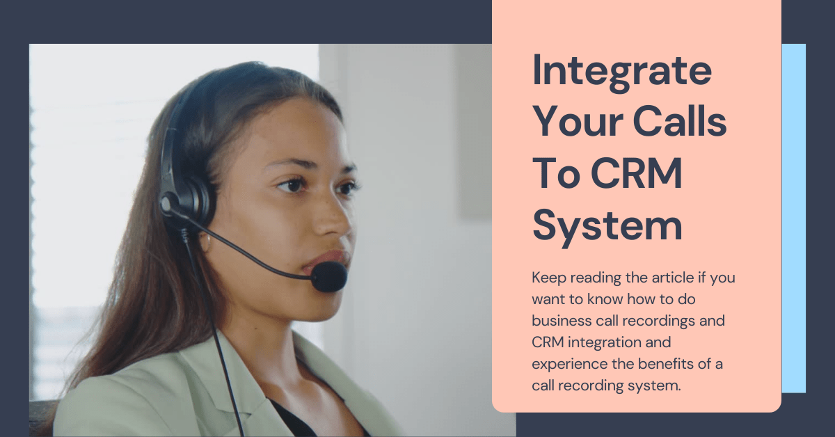 Combine Your Calls To CRM System thumbnail