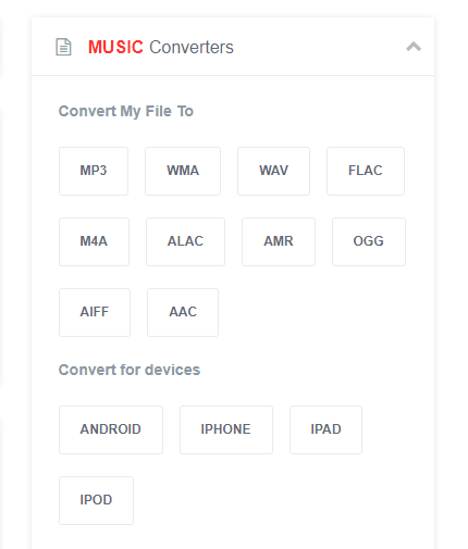 Convert m4P to mP3 with Online Converter