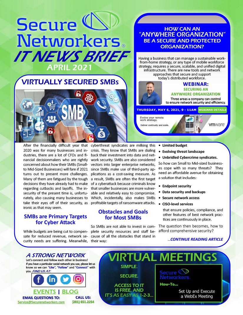 IT News Brief April 2021
