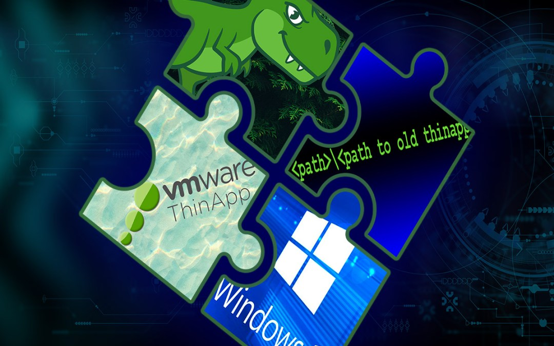 VMware ThinApp Software for Application Delivery