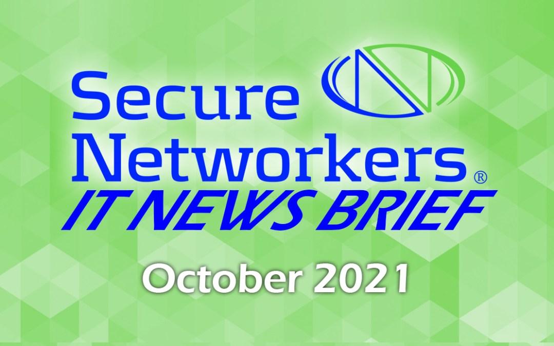 IT News Brief October 2021