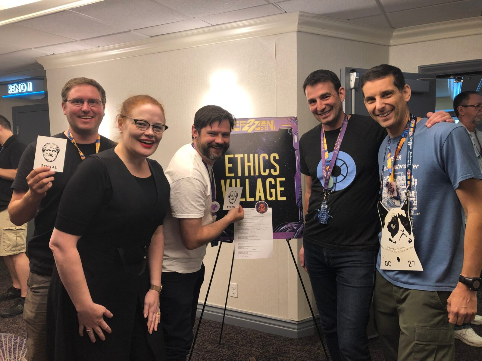 SecuRepairs Members at DEF CON Ethics Village