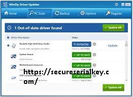 WinZip Driver Updater 5.34.1.6 Crack